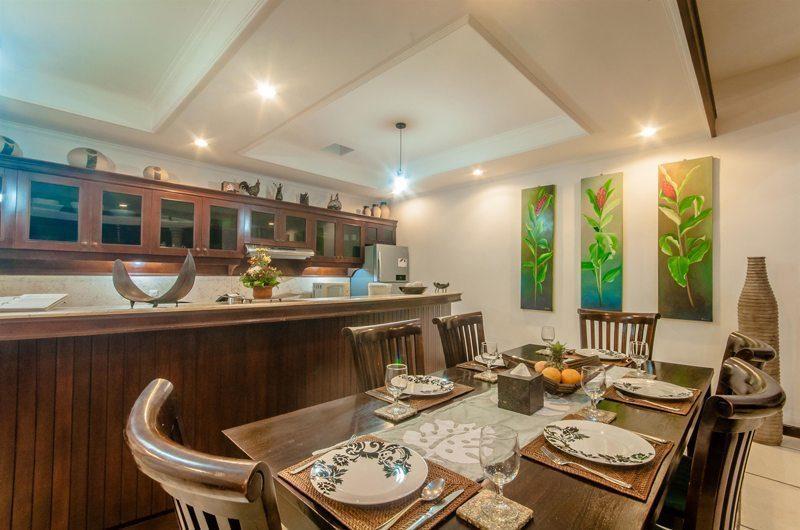 Villa Ginger Dining Pavilion   Seminyak, Bali