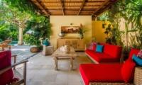 Villa Intan Outdoor Lounge | Seminyak, Bali