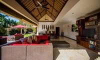 Villa Jaclan Open Plan Living Room | Seminyak, Bali