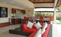 Villa Jaclan Open Plan Living And Dining Area | Seminyak, Bali