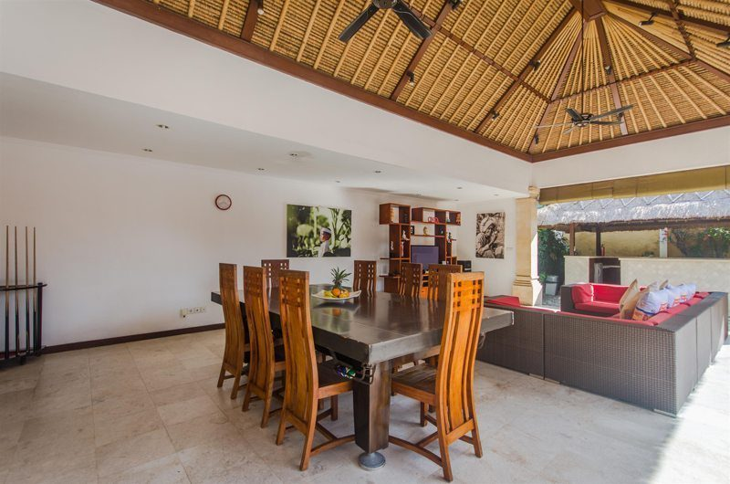 Villa Jaclan Dining Area | Seminyak, Bali