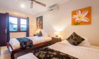 Villa Krisna Twin Bedroom Area | Seminyak, Bali