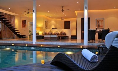 Villa La Sirena Pool Side Living Area | Seminyak, Bali