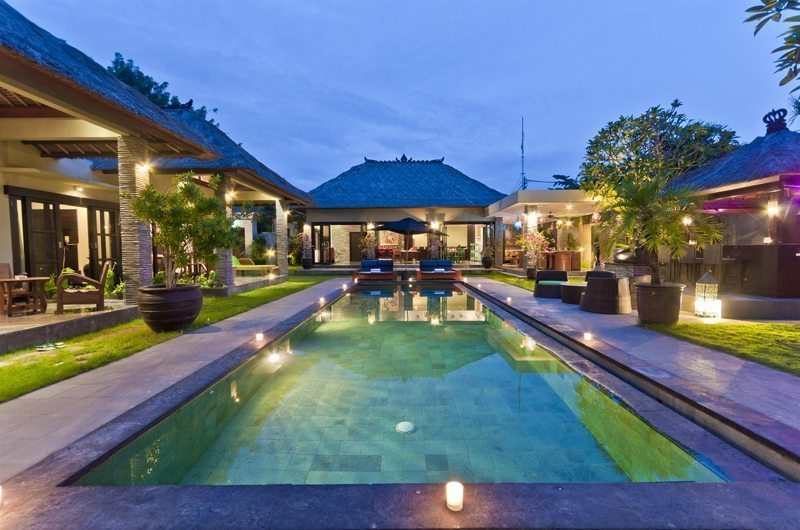 Villa Mahkota Swimming Pool | Seminyak, Bali