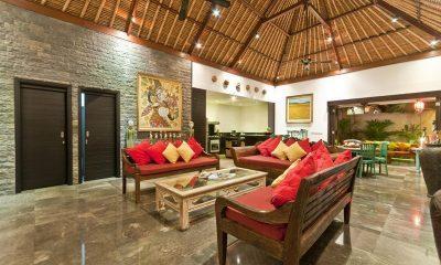 Villa Mahkota Living Area | Seminyak, Bali