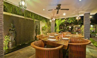 Villa Mahkota Dining Area | Seminyak, Bali