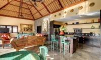 Villa Mahkota Living And Dining Area | Seminyak, Bali