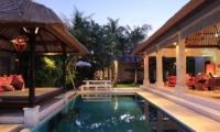 Villa Maju Night View   Seminyak, Bali