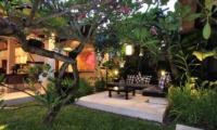 Villa Maju Outdoor Seating in Garden   Seminyak, Bali