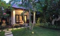 Villa Maju Bedroom View from Garden   Seminyak, Bali