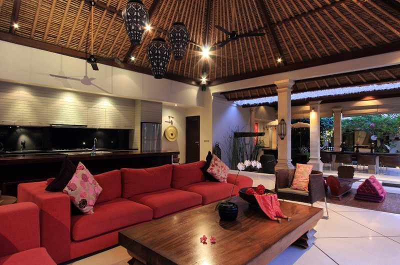 Villa Maju Indoor Living Area   Seminyak, Bali