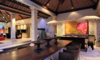 Villa Maju Living and Dining Area   Seminyak, Bali