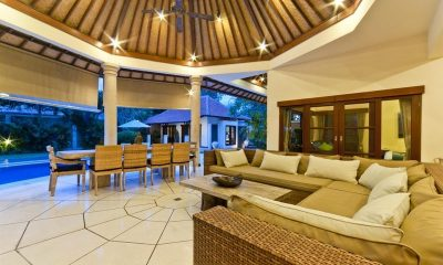 Villa Mango Open Plan Living Area | Seminyak, Bali