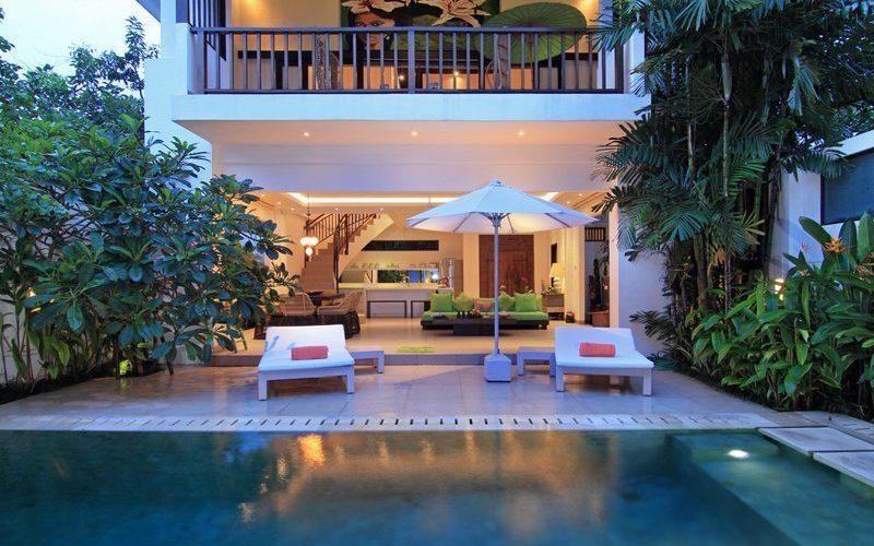 Villa Novaku Pool Side   Legian, Bali