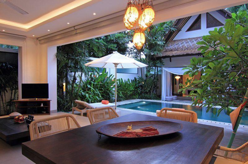 Villa Novaku Pool Side Living Area | Legian, Bali