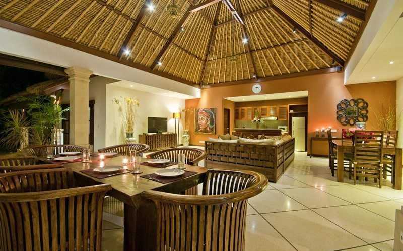 Villa Olive Dining Area   Seminyak, Bali