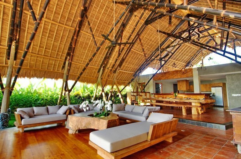 Villa Omah Padi Living Area | Ubud, Bali