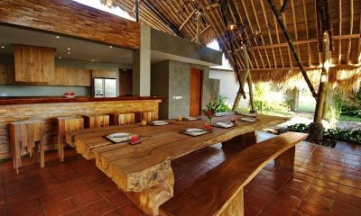 Villa Omah Padi Kitchen And Dining Area | Ubud, Bali