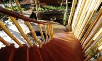 Villa Omah Padi Staircase | Ubud, Bali