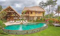 Villa Omah Padi Oval Pool | Ubud, Bali