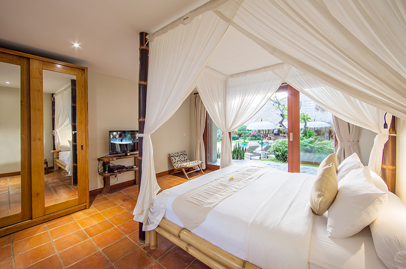 Villa Omah Padi Bedroom with Garden Views | Ubud, Bali
