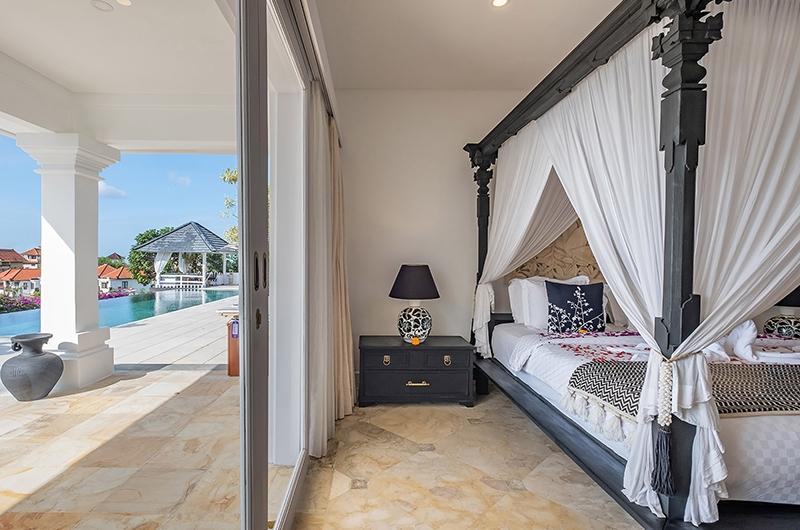 Villa Puri Balangan Bedroom with Pool View | Jimbaran, Bali
