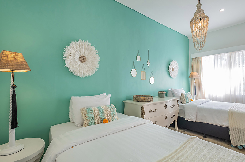 Villa Puri Balangan Twin Bedroom Area | Jimbaran, Bali