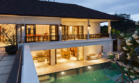 Villa Puri Temple Night View | Canggu, Bali
