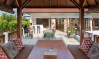 Villa Puri Temple Outdoor Lounge | Canggu, Bali