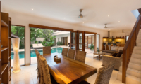 Villa Puri Temple Indoor Dining Area | Canggu, Bali