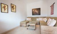 Villa Puri Temple Lounge Area | Canggu, Bali