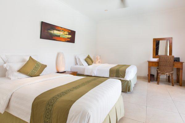 Villa Puri Temple Twin Bedroom | Canggu, Bali