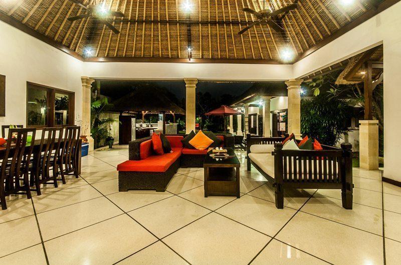 Villa Rama Living And Dining Room | Seminyak, Bali
