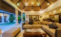 Villa Santai Living Pavilion | Seminyak, Bali