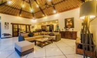 Villa Santai Living Room | Seminyak, Bali