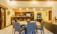 Villa Santai Dining Area | Seminyak, Bali