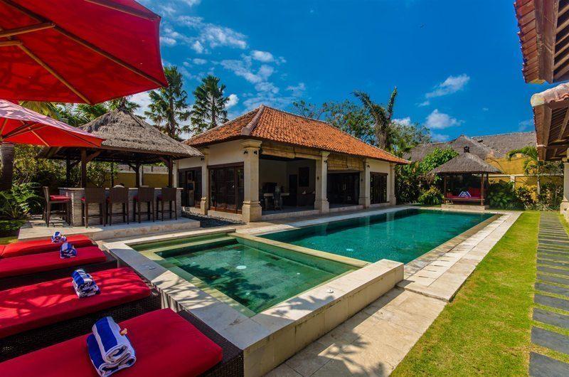 Villa Santi Sun Loungers | Seminyak, Bali