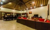 Villa Santi Living And Dining Area | Seminyak, Bali