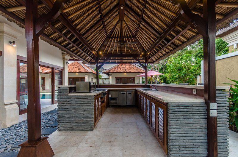 Villa Santi Outdoor Kitchen | Seminyak, Bali