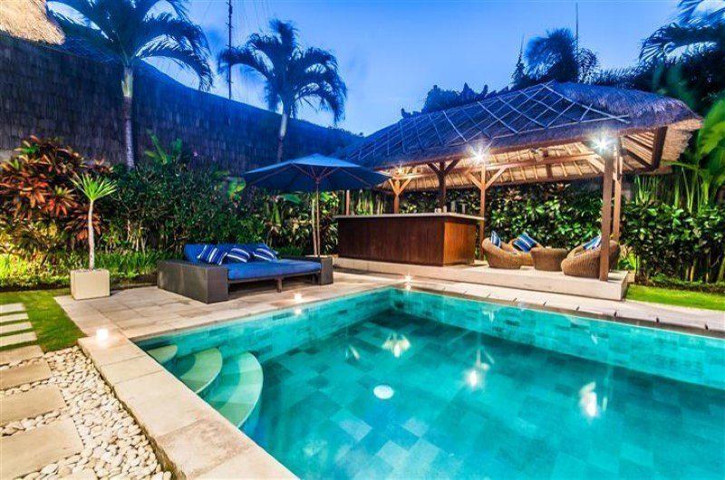 Villa Saphir Pool Side Lounge | Seminyak, Bali