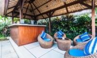 Villa Saphir Outdoor Lounge | Seminyak, Bali