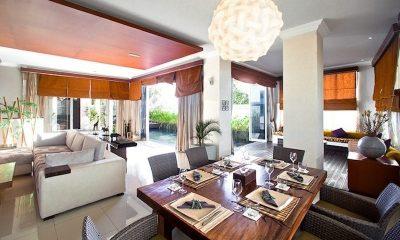 Villa Sky House Open Plan Dining Area I Jimbaran, Bali