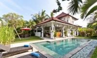 Villa Surga Sun Loungers   Seminyak, Bali