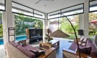Villa Surga Living Area   Seminyak, Bali