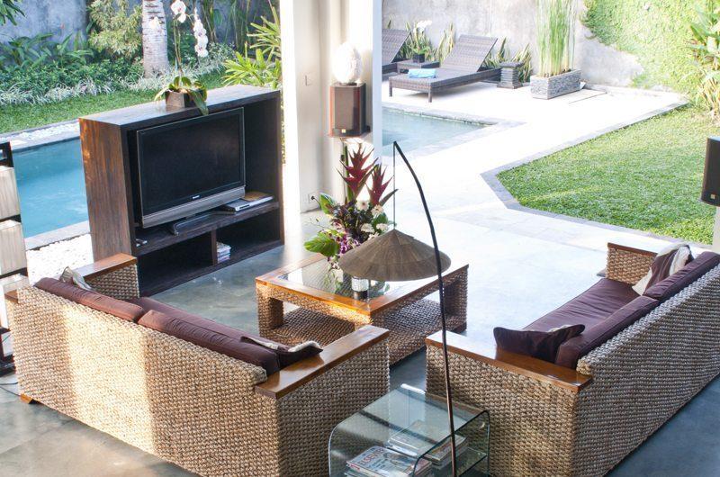Villa Surga Open Plan Living Room   Seminyak, Bali