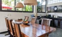 Villa Surga Dining and Kitchen Area   Seminyak, Bali
