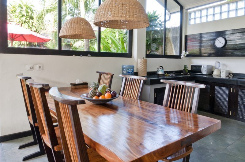 Villa Surga Dining and Kitchen Area | Seminyak, Bali