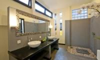 Villa Surga Bathroom One   Seminyak, Bali