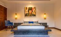 Villa Umah Kupu Kupu Bedroom Two with Seating | Seminyak, Bali