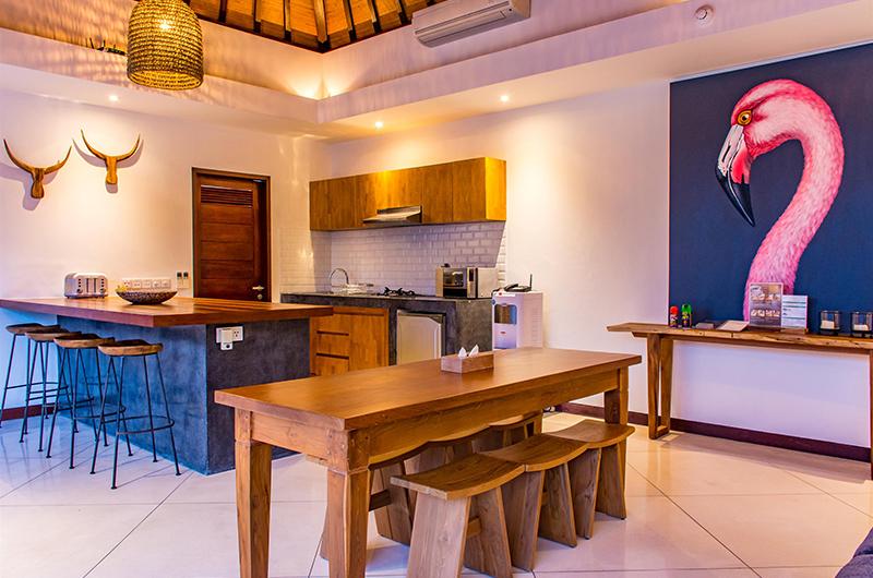 Villa Umah Kupu Kupu Kitchen and Dining Area | Seminyak, Bali